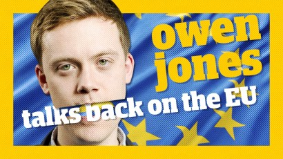 Owen Jones talks back on the EU referendum - European Union - Brexit