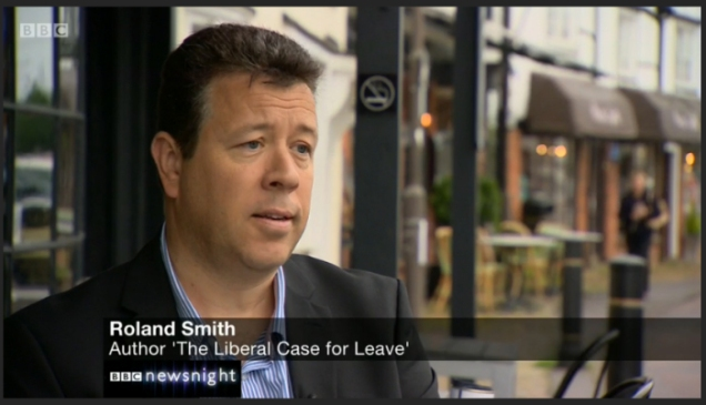 Roland Smith - Adam Smith Institute - ASI - Newsnight - Brexit - EEA - EFTA - Norway Option - EU Referendum