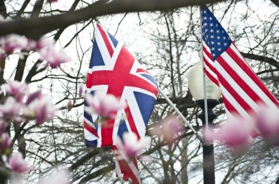 Union Jack - Stars and Stripes - Britain and America - Special Relationship