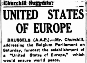 Winston Churchill - United States of Europe