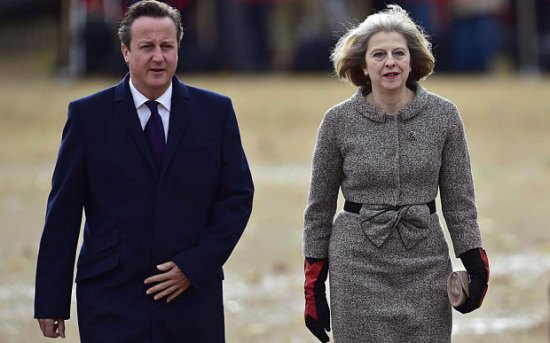 David Cameron - Theresa May - Prime Minister Britain United Kingdom
