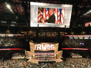 Donald Trump - RNC - Republican National Convention - Cleveland - Nomination - 2