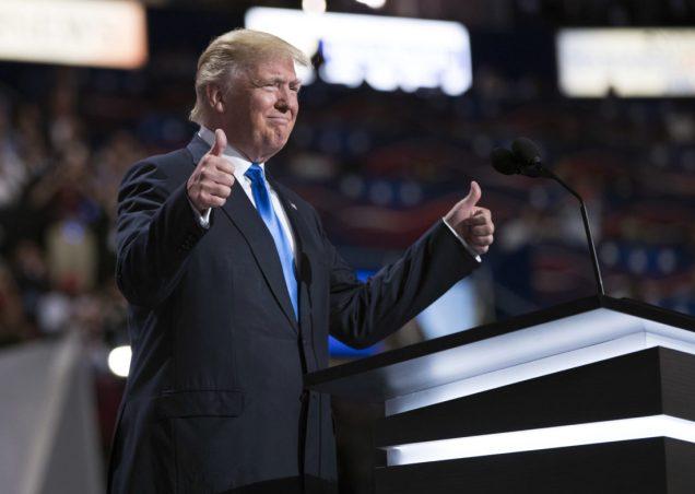 Donald Trump - RNC - Republican National Convention - Cleveland - Nomination