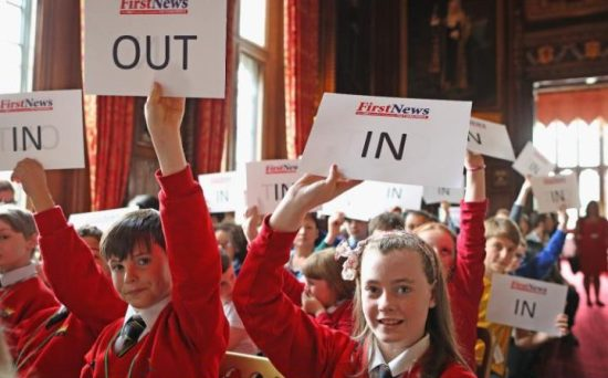 EU Referendum - Brexit - Free Speech - Children - School - Education