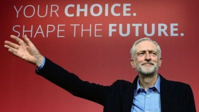 Jeremy Corbyn - Labour Party Leadership - Your Choice Shape The Future