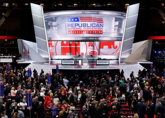 RNC - Republican National Convention - Cleveland - Quicken Loans Arena Floor