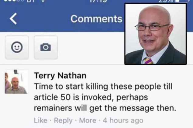 Terence Nathan - UKIP - Facebook