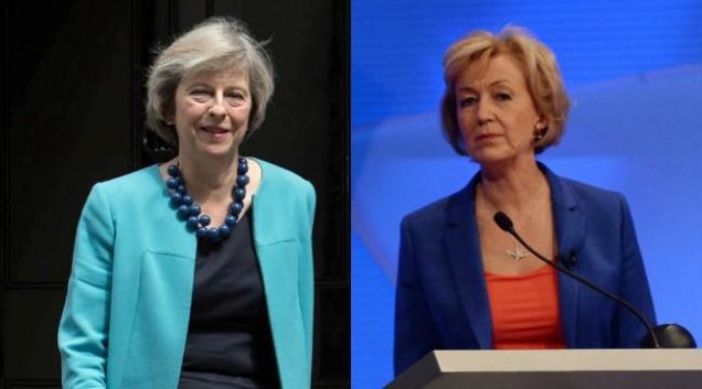 Theresa May - Andrea Leadsom - Conservative Tory Party leadership