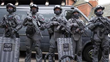 Counter Terrorist Armed Police - London