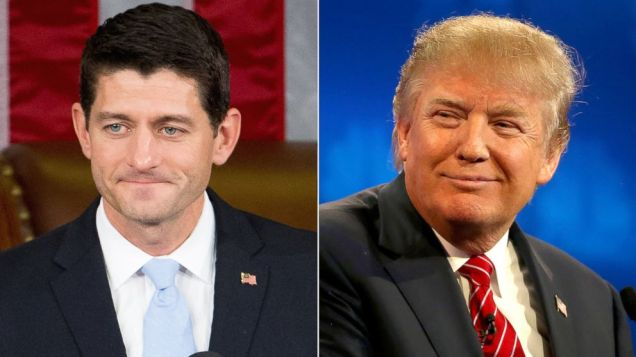 Donald Trump - Paul Ryan - GOP - Republican Party - 2