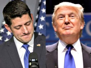 Donald Trump - Paul Ryan - GOP - Republican Party