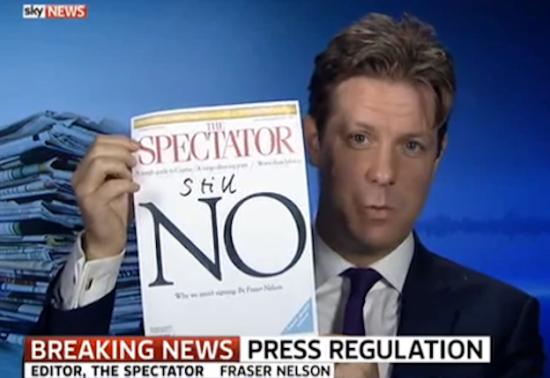 Fraser Nelson - The Spectator - Westminster Media - Journalism