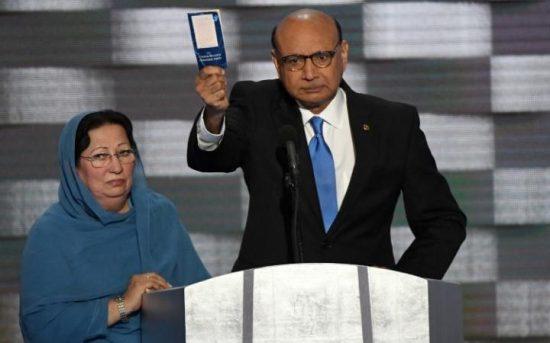 Ghazala Khan - DNC - Donald Trump