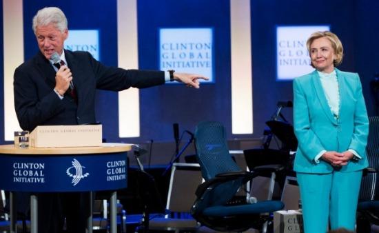 Hillary Clinton - Bill Clinton - Clinton Foundation - CGI