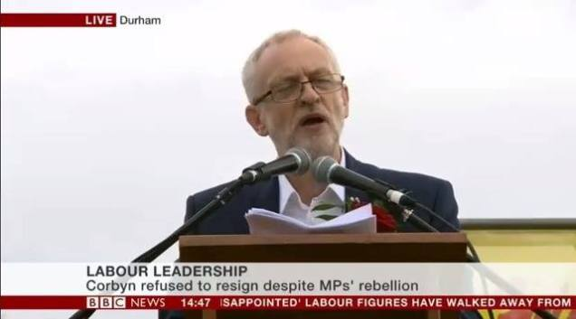 Jeremy Corbyn - Labour Leadership Coup