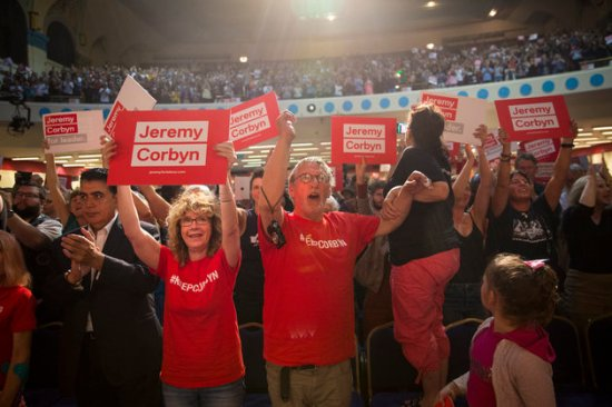 Jeremy Corbyn rally - Kilburn State - Labour leadership - 2