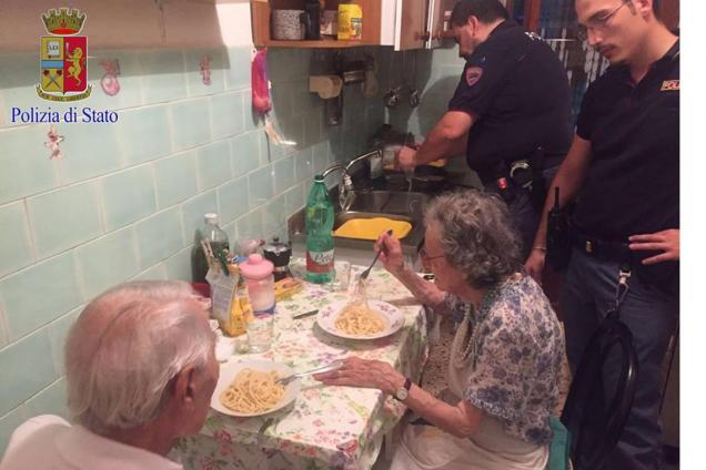 Rome Police - Old Age Loneliness - Questura di Roma