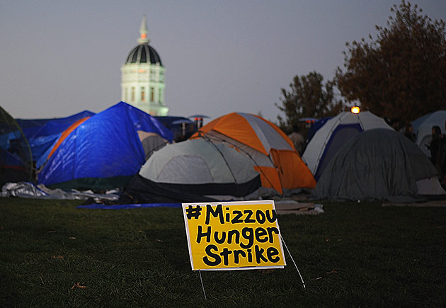 University of Missouri - Mizzou Hunger Strike