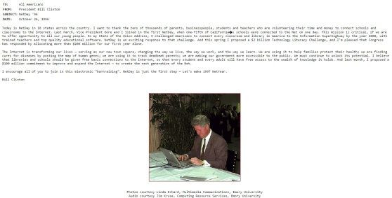 bill-clinton-al-gore-election-1996-campaign-website-bill-using-email-on-laptop