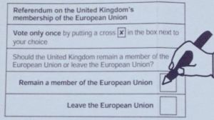 The Electoral Commission - EU Referendum Ballot Paper - Brexit - Biased Voting Guide