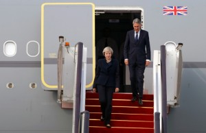 Theresa May - Philip Hammond - G20 - China