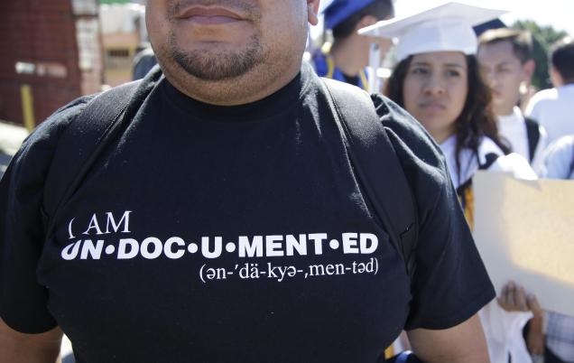 I am undocumented illegal immigrant shirt