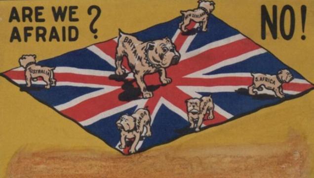 British Empire cartoon