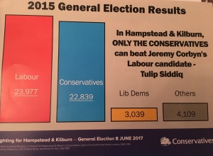 General Election 2017 - Hampstead and Kilburn Conservatives attack leaflet - Tulip Siddiq Labour Party Jeremy Corbyn - 2