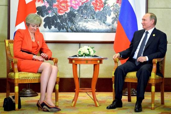 Russia - Vladimir Putin - Brexit - EU Referendum - Hacking - Theresa May