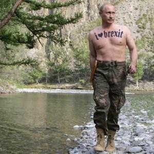Russia - Vladimir Putin - I Heart Brexit Tattoo - EU Referendum - Hacking