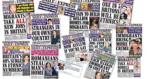 Brexit - Daily Express Headlines - immigration