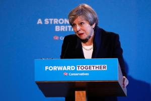 Theresa May - Conservative Party - General Election 2017 - Forward Together