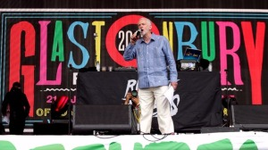 Jeremy Corbyn - Glastonbury stage