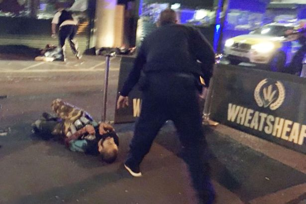 London Bridge terror attack - fake suicide vest