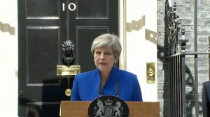 Theresa May - Downing Street speech
