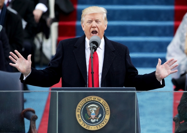 Donald Trump - American Carnage - first inaugural address