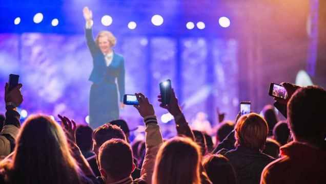 Margaret Thatcher hologram