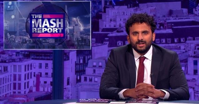 The Mash Report - Nish Kumar - BBC - Satire - Comedy - Bias - Leftism