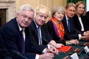 Theresa May cabinet - Tory conservative leadership