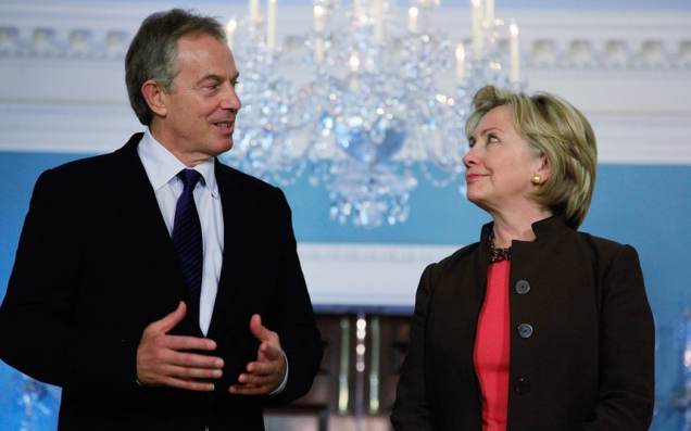 Tony Blair - Hillary Clinton - centrism