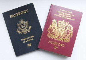 Dual citizenship - US and British passports