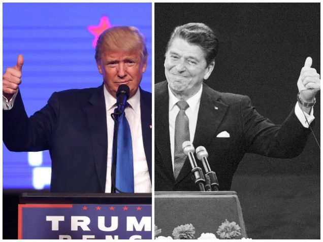 Donald Trump Ronald Reagan comparison photo
