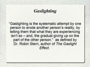 Gaslighting definition - Dr Robin Stern