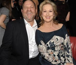 Harvey Weinstein - Meryl Streep