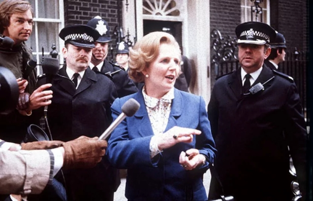 Margaret Thatcher election - 10 Downing Street - 1979