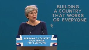 Theresa May - Building a country that works for everyone