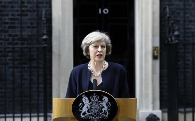 Theresa May - Downing Street - Conservative Party - Tories