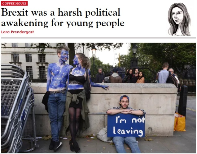 Brexit - young professionals