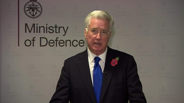 Sir Michael Fallon - Secretary of Defence - resignation sexual harassment allegations