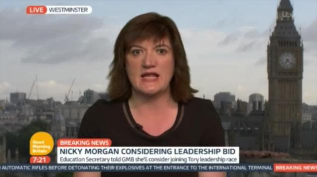 Nicky Morgan - conservative principles